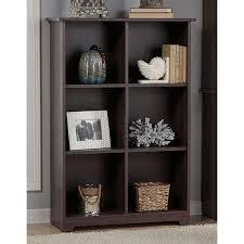 Sauder Barrister Bookcase by Bush Furniture Cabot Collection 6 Cube Bookcase Walmart Com