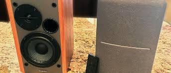 powered home theater speakers edifier rt1280t powered bookshelf speaker review hometheaterhifi com