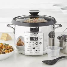 stoneware rice cooker all clad electric rice grain cooker williams sonoma