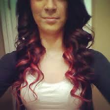 brown with red underneath hair red hair anna d s annadiemerhair photo beautylish