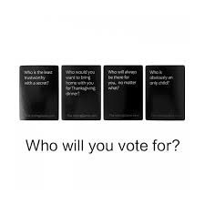 Dinner Party Question Games - wholesale the voting game the party game about friends