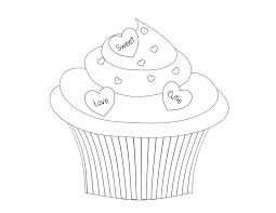 100 birthday cupcake coloring page barbie birthday cupcakes and