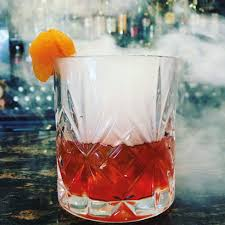 kg with a twist smoked apricot old fashioned cocktail of the month
