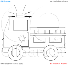 fire truck outline clipart china cps