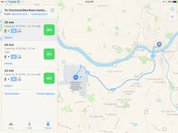 Google Maps Dayton Ohio by Apple Extends Maps Transit Directions To Several Ohio Cities