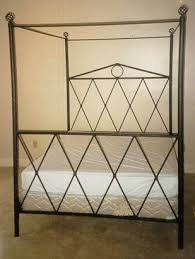 Wrought Iron Canopy Bed Iron Canopy Bed