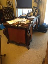lovely tuscan style desk i love the rich colors and ornate