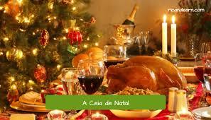 christmas dinner brazil dica portuguese classes
