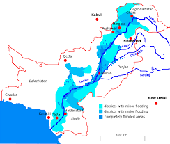 India River Map by India Responsible For The Floods In Pakistan
