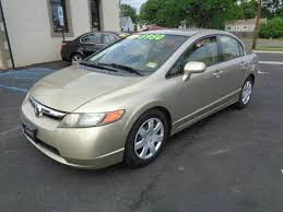 honda civic lx 2007 for sale gold honda civic in jersey for sale used cars on buysellsearch