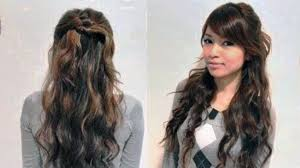 hairstyle for girls with curly hair easy hairstyles for curly hair