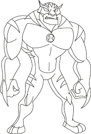 ben 10 ultimate alien coloring pages hmhqwsl best images