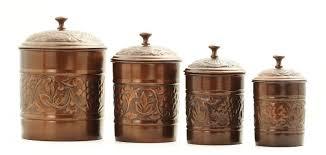 old dutch heritage antique copper 4 piece canister set old dutch heritage antique copper 4 piece canister set