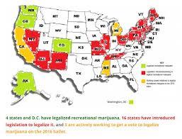 map of america marijuana map of america in april 2015