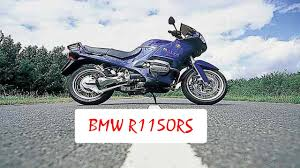 bmw r1150rs 2001 2005 review youtube