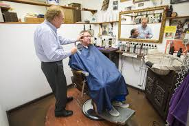 the barber in the basement longtime madison barber george