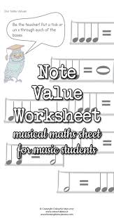 note values worksheets with owls and balloons colourful keys