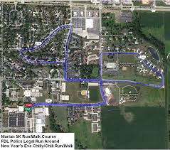 marian map chilly chili run fond du lac running