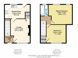 Halliwell Manor Floor Plan by 2 Bed Terraced House For Sale In Barrie Road Parson Cross