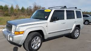 jeep limited price sold 2007 jeep commander limited 4x4 5 7l hemi 87k 7 passenger for