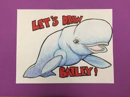 how to draw bailey the beluga whale from finding dory youtube