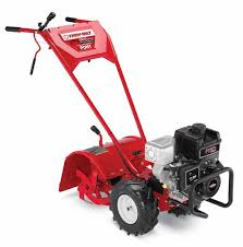 amazon com troy bilt pony 250cc rear tine tiller patio lawn