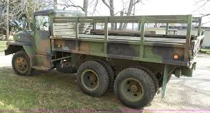 kaiser jeep for sale 1982 kaiser jeep m35a2 flatbed truck item k4301 sold ap