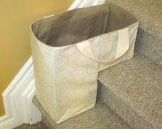 the stair duffel storage basket stair basket staircase bin