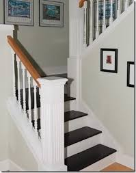 painted stair treads home pinterest paint stairs and stair