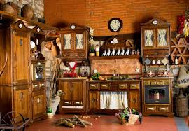 rustic kitchen with appliances idfdesign