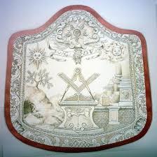 Masonic Home Decor Masonic Aprons Secret Societies Pinterest Freemasonry
