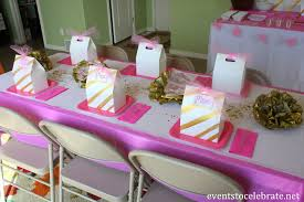 Pink And Gold Baby Shower Decorations by Pink And Gold Shower Decorations Archives Events To Celebrate