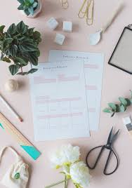 social media planner free printable social media pinterest planners fall for diy