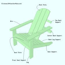 Adirondack Chairs Blueprints Easy To Follow Plans For An Adirondack Chair