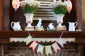 easter mantel decorations 25 diy easter mantels