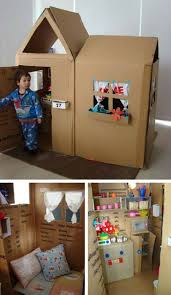diy kids games and activities can make with cardboard boxes