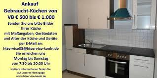 küche köln ankauf gebraucht küchen eur 500 bis eur 1000 in köln