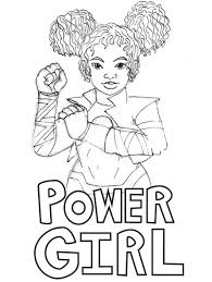 empowering female superheroes coloring pages female superhero