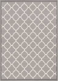 Black And White Modern Rug Trellis Design Gray And White Trellis Rug Dallas Moroccan