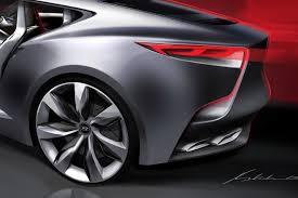 hyundai supercar concept hyundai hnd 9 concept previews next gen genesis coupe