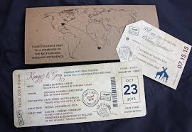 wedding invitations cape town world map giraffes south africa passport sts antique airline