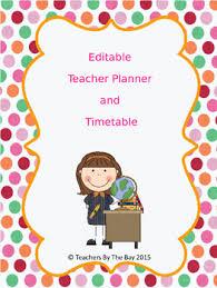 weekly planner template teaching resources teachers pay teachers