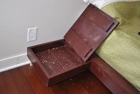 bedroom furniture plans storage bed plans diy rustic king bed