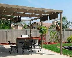 Sun Awnings For Decks Pergola With Retractable Canopy For Back Deck Need Advice