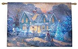 lighted tapestry wall hangings kinkade project