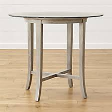 halo grey round dining table with 42
