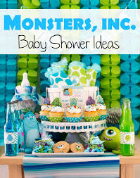 inc baby shower ideas monsters inc baby shower ideas pinkducky it s a boy
