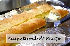 easy stromboli recipe