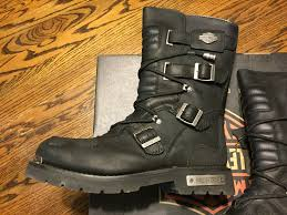 mens leather motorcycle riding boots harley davidson mens 10