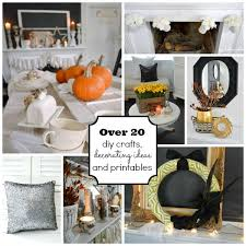 Fall Decorating Projects - fall and thanksgiving printables diy crafts decorating ideas fox